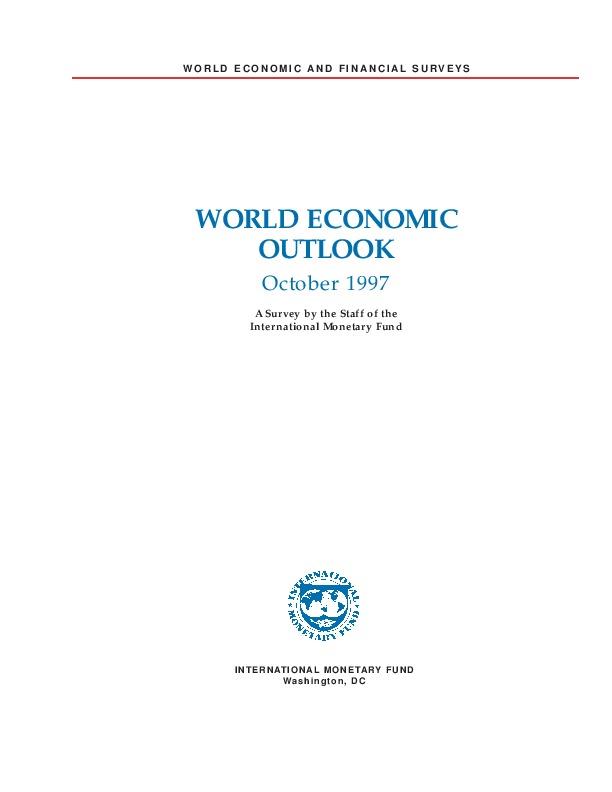 World Economic Outlook October 1997 -1