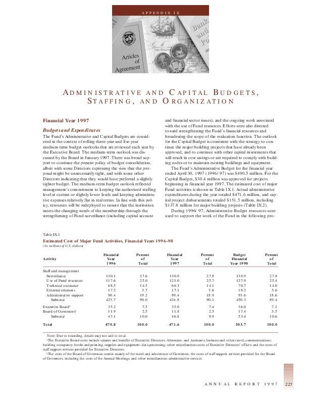 IMF Annual Report 1997-17