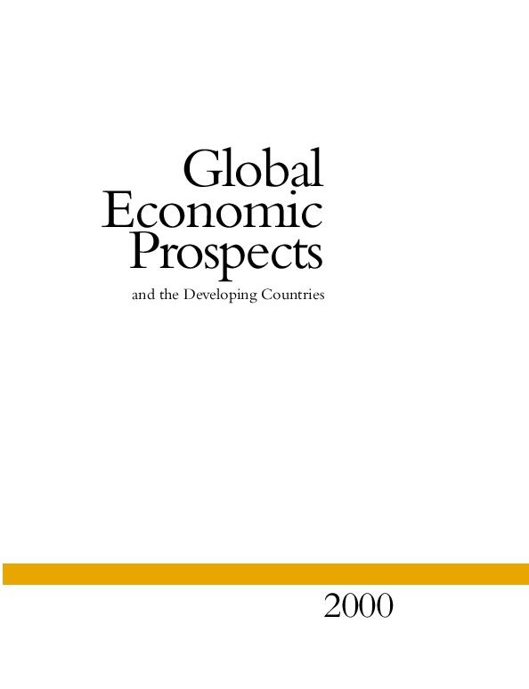 Global Economic Prospects and the Developing Countries 2000 [Front Matter]