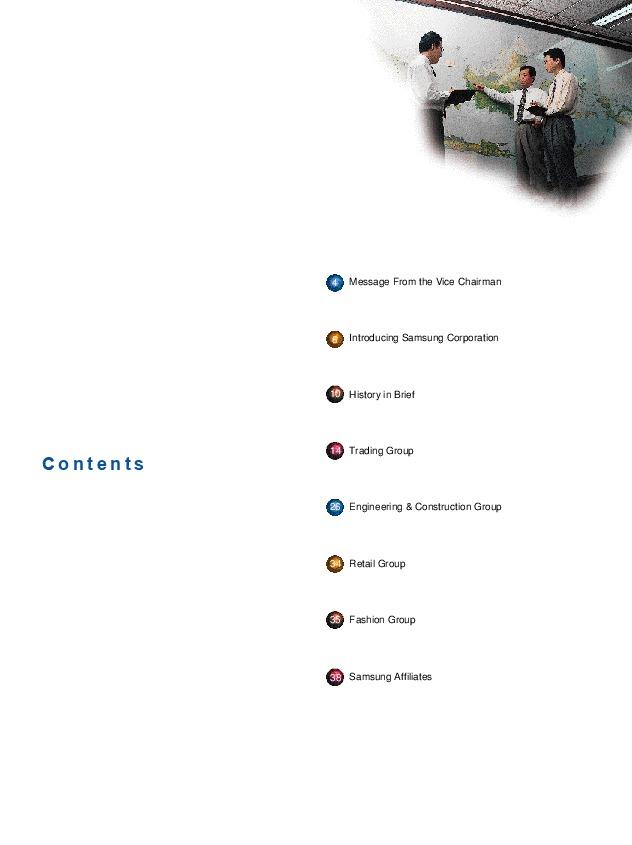 Samsung Corporation Annual Report 1998
