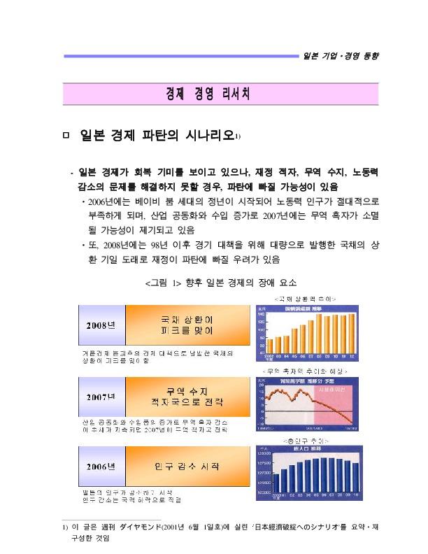 현창혁 일본 경제 파탄의 시나리오 (현대경제연구원 2002)