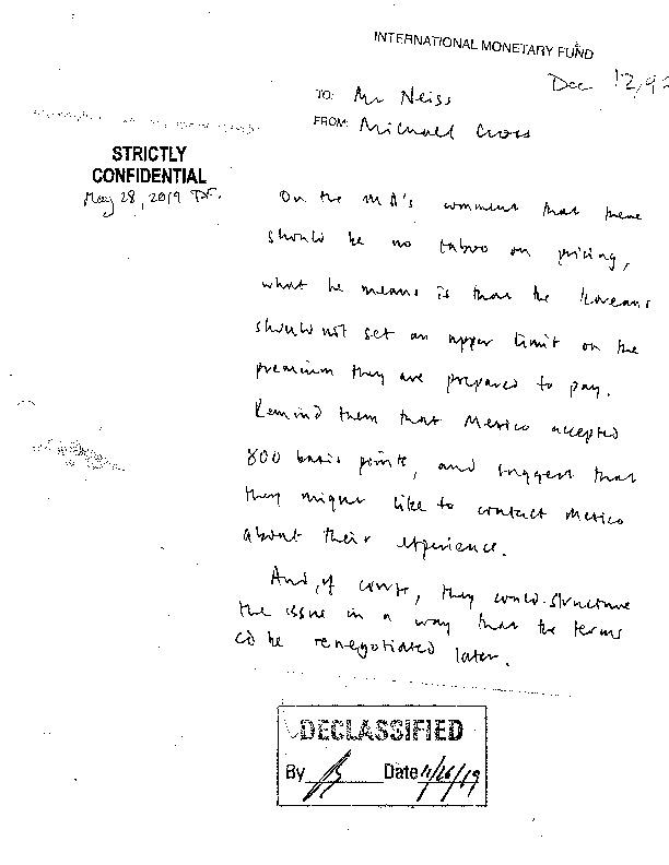 Letter from Hubert Neiss to Wanda Tseng