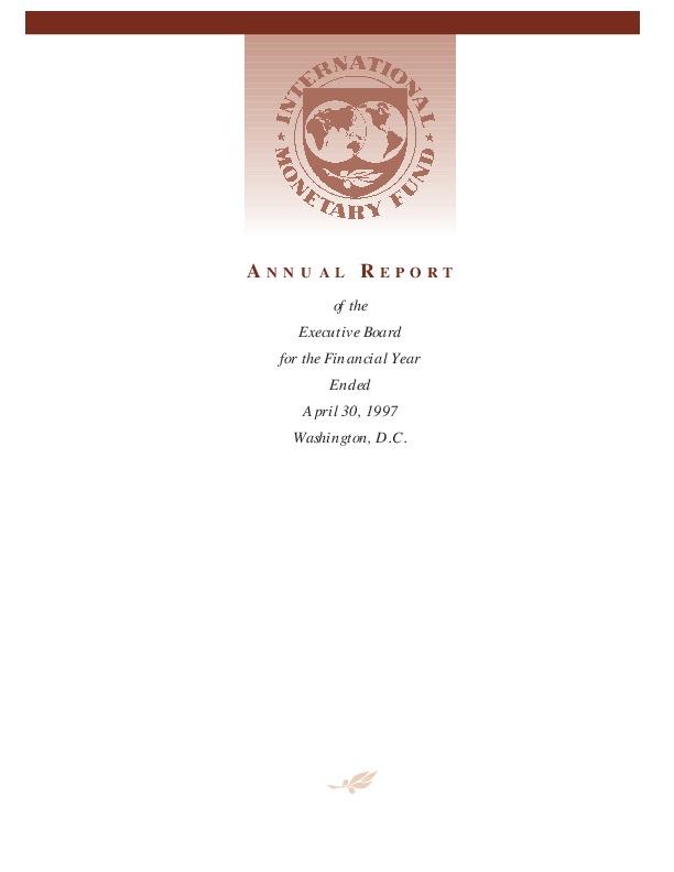 IMF Annual Report 1997-1