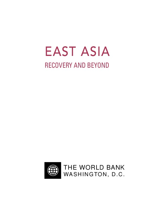 World Bank - East Asia Recovery and Beyond (2000)