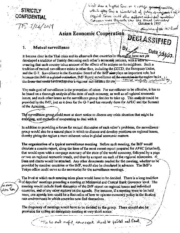 Asian Economic Coorperation