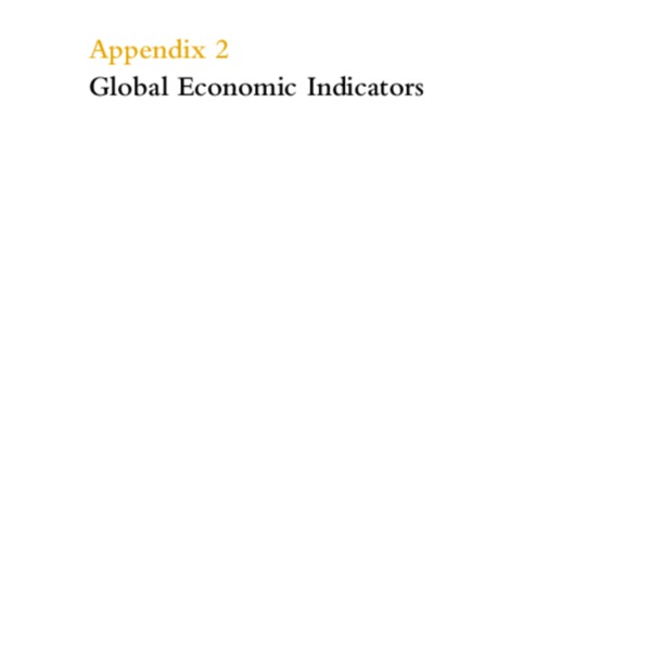 Global Economic Prospects and the Developing Countries 2000 [Appendix 2]