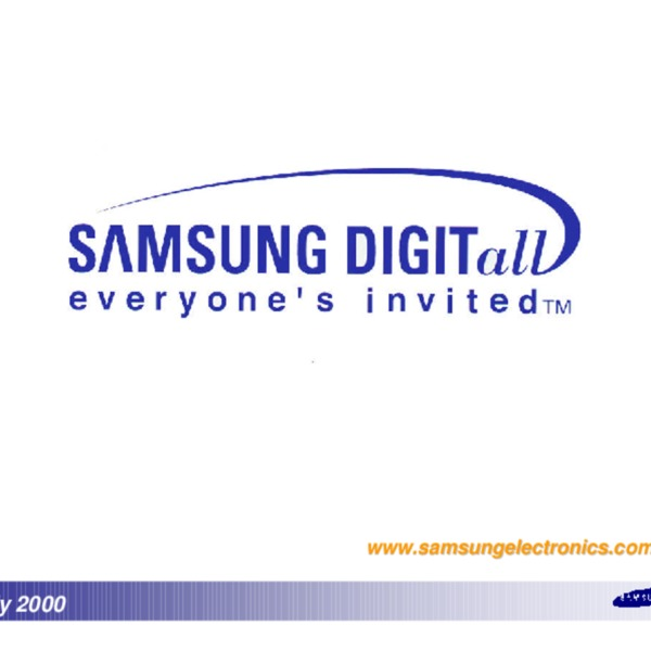 Samsung Electronics 2000 Projection