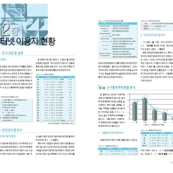 정보통신부 한국 인터넷 백서 2000 - 제2편 제2장 인터넷 정책