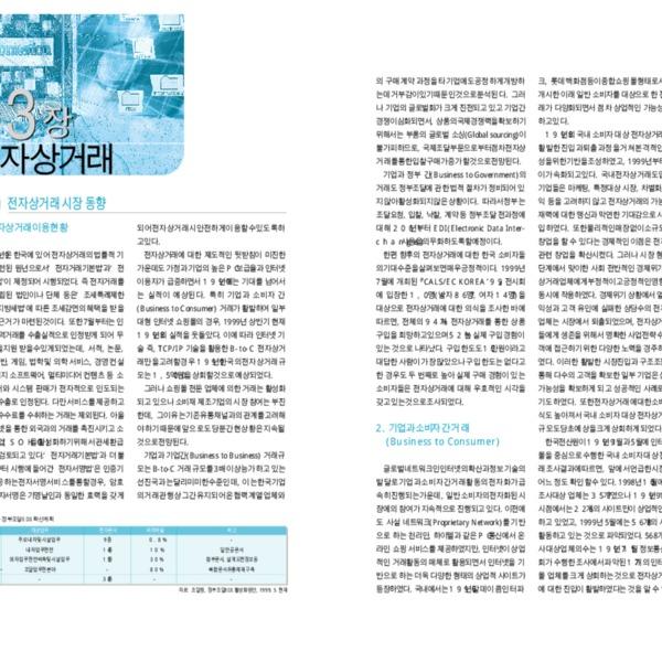정보통신부 한국 인터넷 백서 2000 - 제3편 제3장 전자상거래