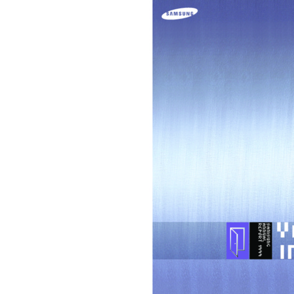 Samsung Group Annual Report 1999