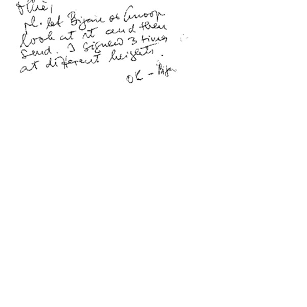 Letter from Hubert Neiss to Chang-Yuel Lim (Hand writing)