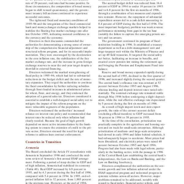 IMF Annual Report 1997-7