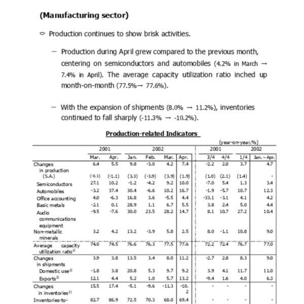 BoK - Domestic Economic Developments